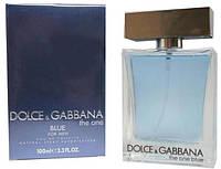 Мужская туалетная вода Dolce&Gabbana The One blue (Дольче и Габбана Зе Ван блю) 100 мл