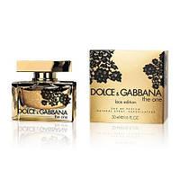Женская туалетная вода Dolce & Gabbana The One Lace Edition Дольче Габбана Зе Ван Лейс Эдишн 75мл.