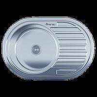 Мойка для кухни врезная 7750 Polish 0.6 мм