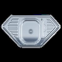Мойка для кухни врезная 9550D Polish 0.8 мм