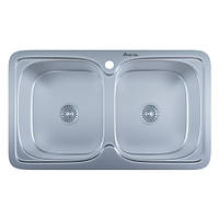Мойка для кухни врезная 401 Decor 0.8 мм
