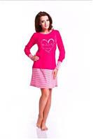 Сорочка, ночная рубашка женская с длинным рукавом Dobranocka 6019