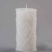 """Свадебная свеча  для обряда """"Семейный очаг"""" ,набор свадебных свечей"""