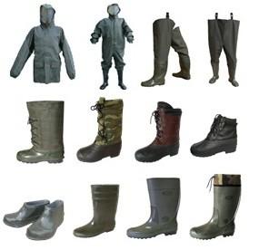 Одежда и обувь рыбацкая обувь