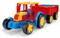 Детский Трактор с прицепом Гигант