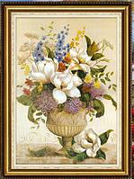 """Алмазная вышивка """"Цветы в вазе"""" (картина своими руками)"""