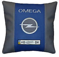 Подарок корпоративный Подушка  с логотипом опель Opel