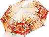 Яркий женский зонт полуавтомат ZEST (ЗЕСТ) Z53624-11 Антиветер!