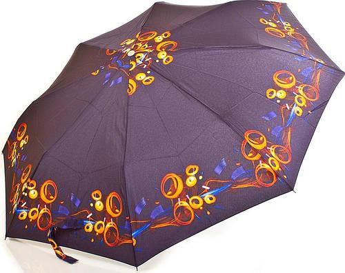 Полуавтоматический женский зонт ZEST (ЗЕСТ) Z53626B-10 Антиветер!