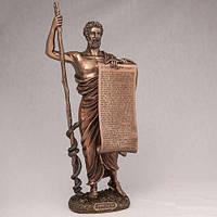 """Статуэтка с покрытием бронзой """"Гиппократ""""  34 см. Отец медицины"""