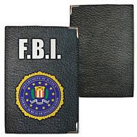 Обложка на паспорт F.B.I.