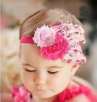 Перьевые повязки на голову для девочки / Код товара FH09