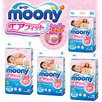 Японские подгузники MOONY муни