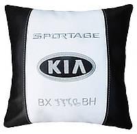 Сувенирная Подушка с вышивкой логотипа KIA киа