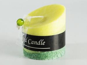 Ароматическая свеча Срез зеленая