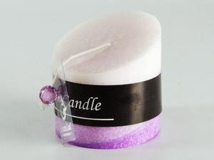 Ароматическая свеча Срез фиолетовая