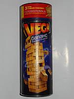 Настольная игра Vega (Дженга) - моторика и ловкость, точность и координация движений, усидчивость и выдержка