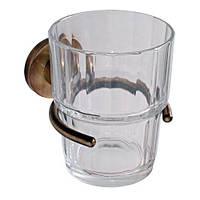 Стакан для зубных щеток Aqualine бронза