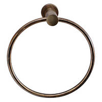 Держатель для полотенец кольцо Aqualine бронза