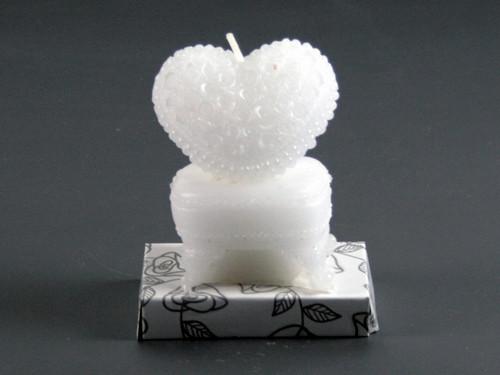 Свеча ароматическая Сердце на сундуке