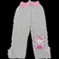 Детские спортивные штаны, плотный трикотаж с начесом, Турция, р.98, 104, 110, 116