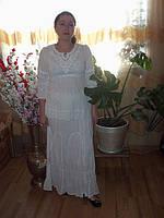 Блузка вискоза с вышивкой 1653