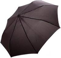 Мужской полу-автоматический черный зонт DOPPLER, Carbon 730166. Гарантия 1 год, антиветер