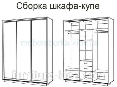 Как собрать своими руками встроенный шкаф купе