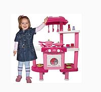 Детская кухня 008-32 Bambi 3 в 1 (Большая,со стиральной машиной,вода)
