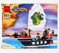 Конструктор Пиратский корабль Brick 301