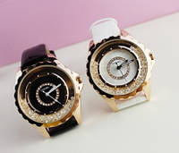 Часы женские Chanel Gold Diamond (копия)