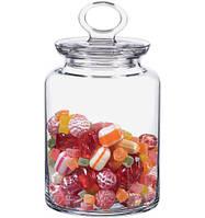 Банка для сыпучих продуктов стекло Kitchen 1500мл 98673