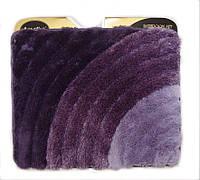 """Коврик для ванной комнаты 50*60 """"3DSoft"""" фиолетовый"""