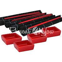 Набор для суши 4 персоны «Красное и Черное»