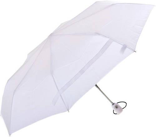 Элегантный женский зонт белого цвета, полный автомат FARE (ФАРЕ) FARE5460-white