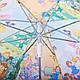 Сказочный облегченный детский  зонт-трость полуавтомат ZEST (ЗЕСТ) Z21665-1, фото 5