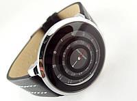 Часы женские Alberto Kavalli необычный циферблат - черные