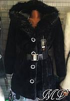 Шубка длинная с капюшоном. Арт-0913
