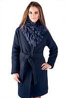 Зимние пальто женские с шикарным воротом енот