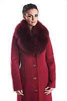 Пальто зимнее женское с мехом на SLINTEX