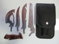 Набор ножей туристический Grand Way Х-4
