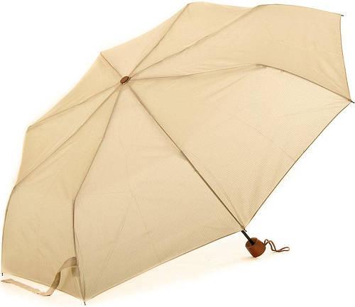 Женский механический компактный облегченный эко-зонт FARE (ФАРЕ) FARE5099-beige