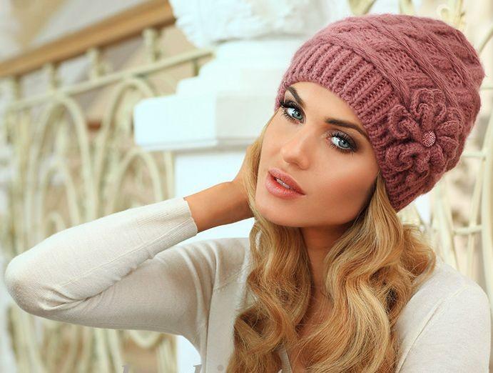 Как связать красивую шапочку на зиму 104
