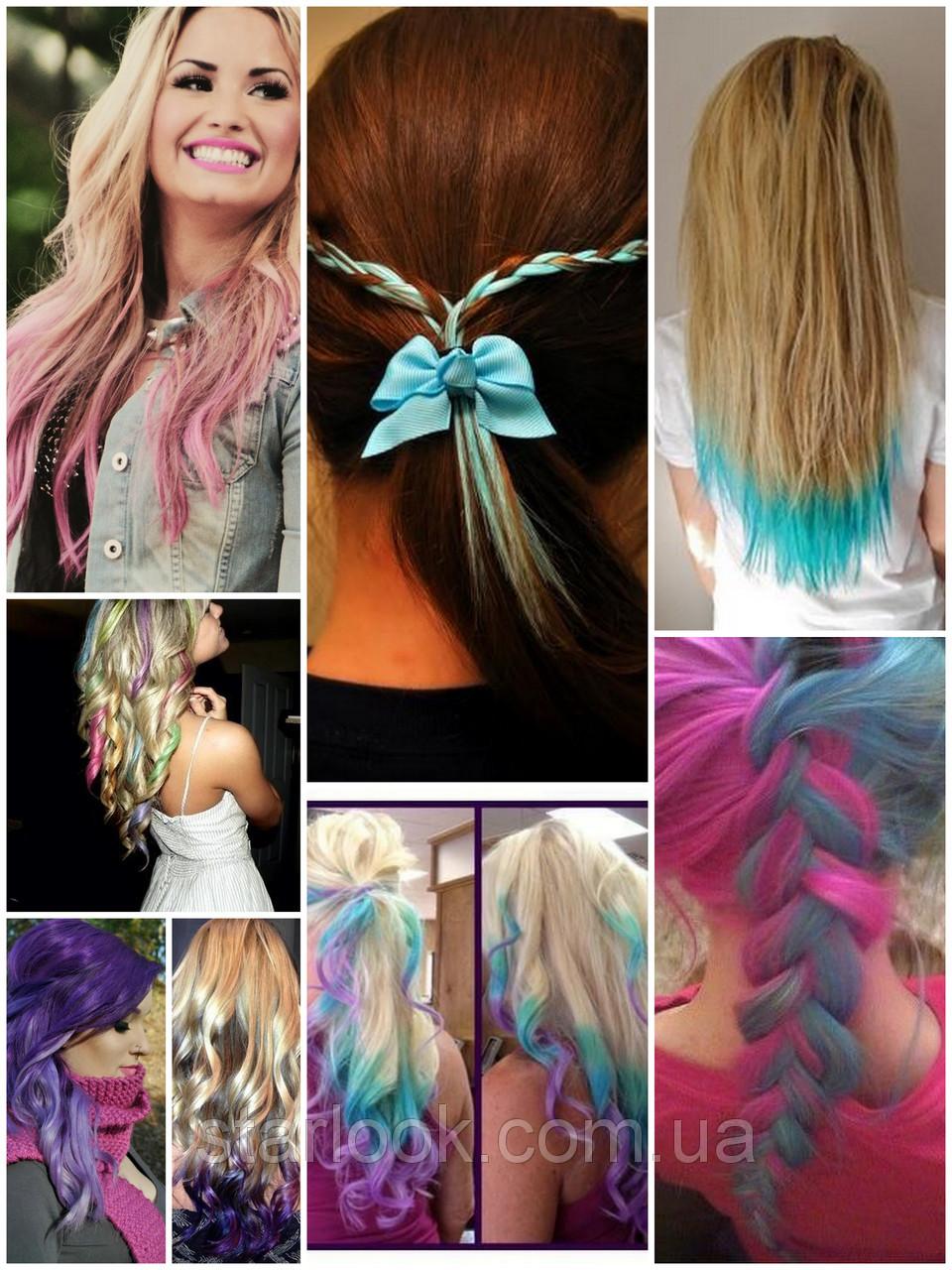 Как покрасить ребенку волосы фото