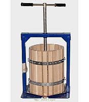 Пресс для винограда, объем 20 л, из карпатского дуба, производительvеlen, мешок для косточек, минимальная цена