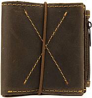 Стильное и тонкое мужское портмоне Black Brier П-6-33 коричневый