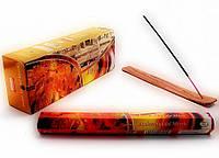 Аромапалочки Amber Sandal Myrrh (Янтарь Сандал Мирра) шестигранник