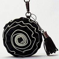 Женская сумка клатч  и кошелек  Giorgio Ferrilli черная