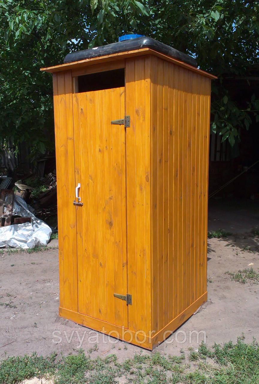 Кабинка для туалета на даче своими руками