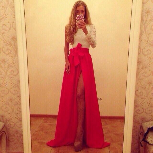 Платье Красно Белое Доставка